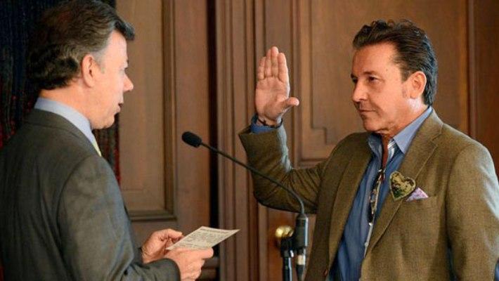 Ricardo Montaner recibió la nacionalidad colombiana