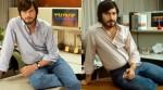 Publican foto de Ashton Kutcher personificando a Steve Jobs