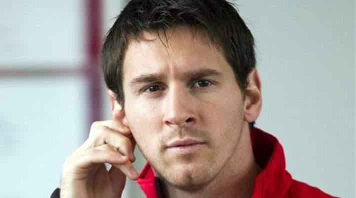 Lionel Messi fue fotografiado con su hijo Thiago
