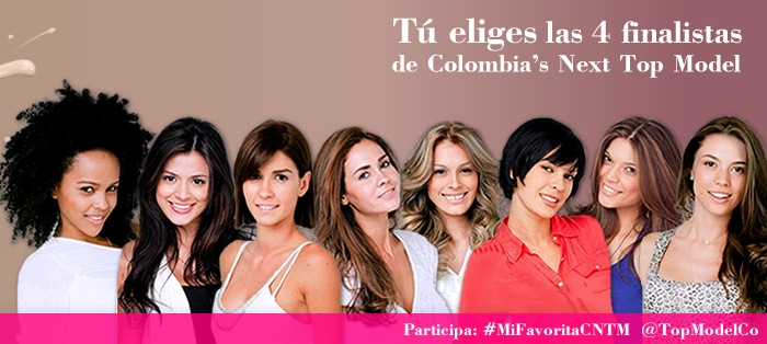 Finalistas de 'Colombia Next Top Model' del Canal Caracol