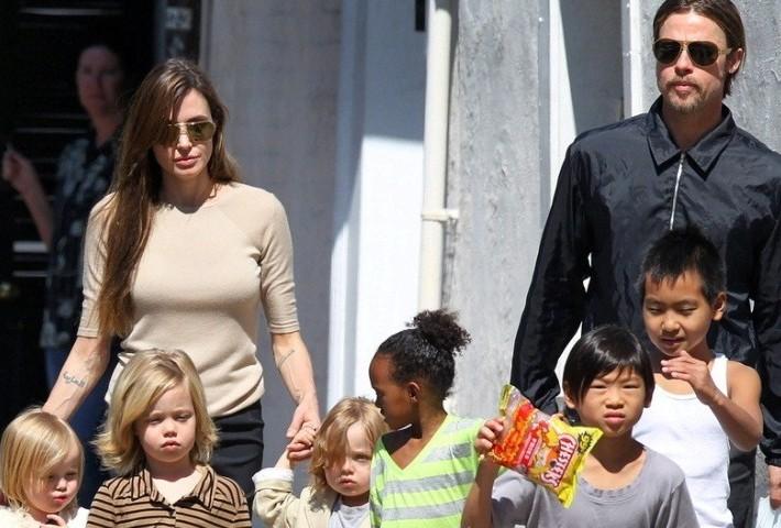 Angelina Jolie estaría esperando su séptimo hijo