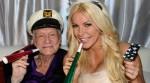 Hugh Hefner se casó por tercera vez a los 86 años