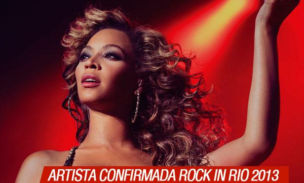 Beyoncé confirmada para Rock in Rio 2013 en Brasil