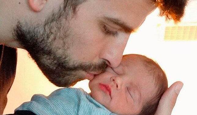 Foto: Shakira publicó foto de su hijo Milan Piqué Mebarak