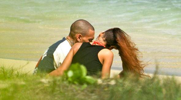 Fotos: Rihanna celebró su cumpleaños junto a Chris Brown en Hawai