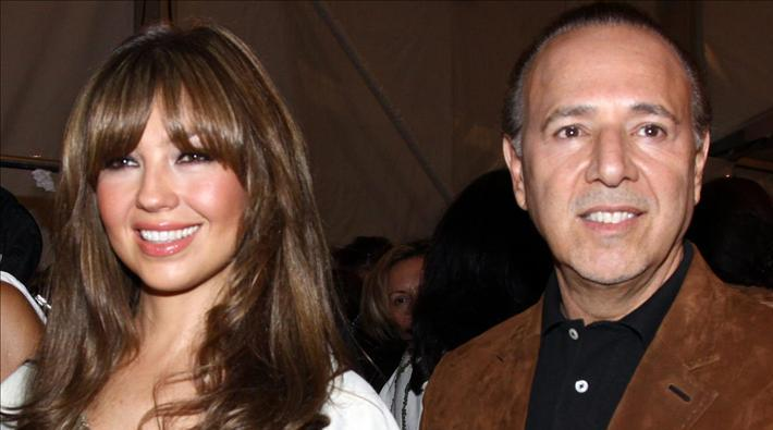 Thalía se estaría divorciando de Tommy Mottola