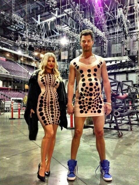 Fergie y su esposo