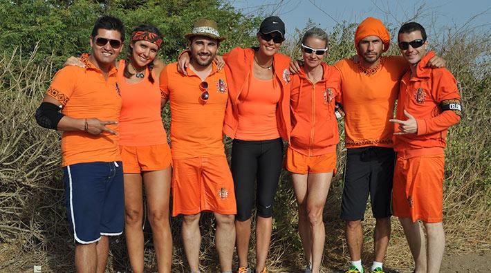Fotos oficiales del grupo Celebridades del Desafío África 2013