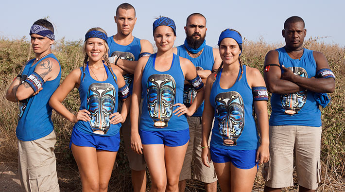 Este es el equipo de los Sobrevivientes del Desafío África 2013