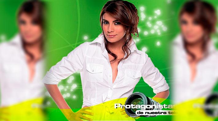 Andrea Serna presentará Protagonistas de Nuestra Tele 2013