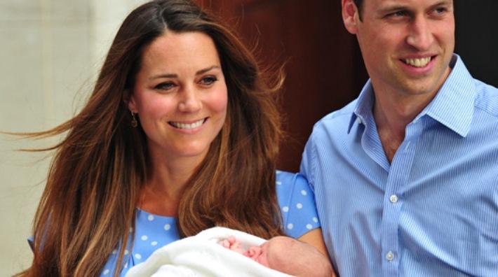 Se conoce el nombre del hijo del Príncipe Guillermo y Kate Middleton