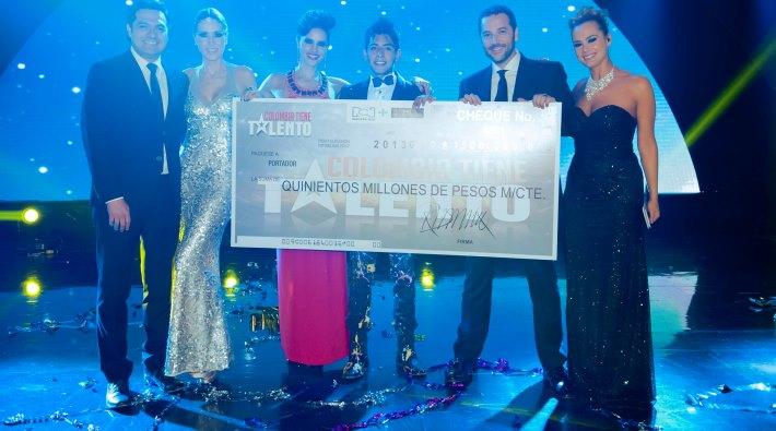Byron González es el ganador de Colombia Tiene Talento