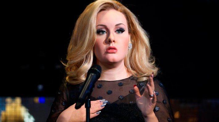 Adele estrena figura de cera en el Museo Madame Tussauds