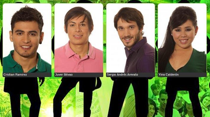 Estos son los 4 Protagonistas de Nuestra Tele escogidos por Colombia