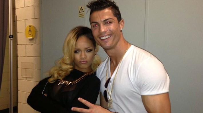 Cristiano Ronaldo está furioso con Rihanna por decir que es gay
