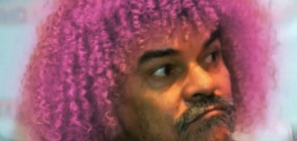 El Pibe Valderrama se pintará su melena de rosado