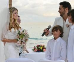 Cristina Hurtado y Josse Narváez se casaron en ceremonia íntima