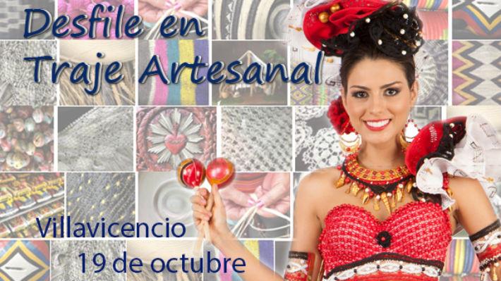 En Villavicencio se realizará el Desfile en Traje Artesanal 2013