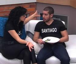 Iris y Santiago terminan su relación en Protagonistas de Nuestra Tele