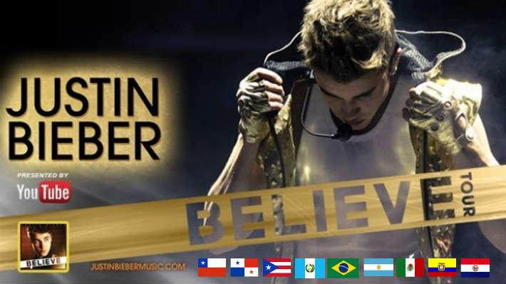 Detalles del concierto de Justin Bieber en Colombia