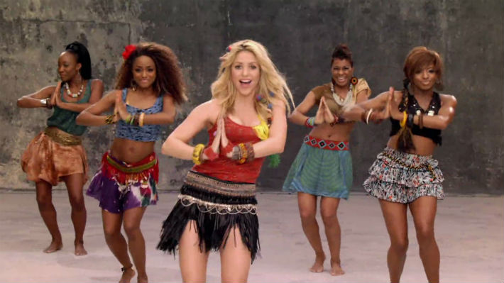 Shakira hace historia nuevamente en YouTube con video del 'Waka Waka'
