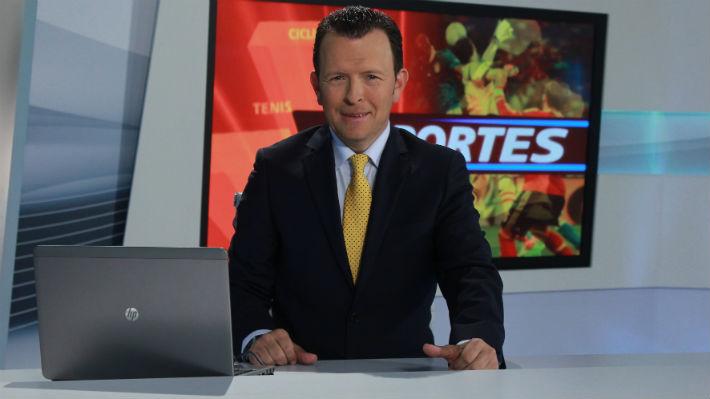 Adolfo Pérez es el nuevo presentador de deportes del Canal RCN