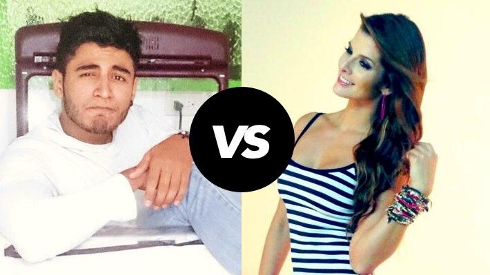 Carolina Cruz y Cristian Ramirez se pelean en Twitter