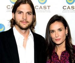 Demi Moore y Ashton Kutcher formalizaron su divorcio