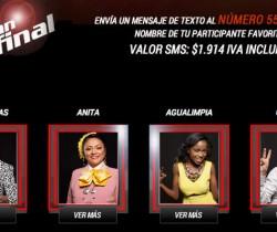 J. Cadenas, Anita, Camilo y Agualimpia finalistas de La Voz Colombia