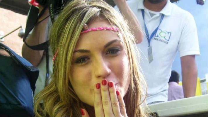 Fotos: Sara Uribe involucrada en accidente de tránsito en Medellín