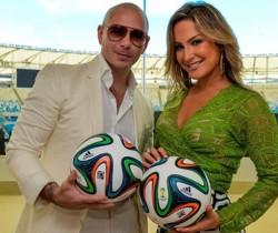 Jennifer López, Pitbull y Claudia Leitte cantarán himno del Mundial 2014