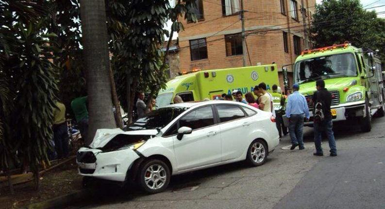 Se complica situación de Sara Uribe por  accidente de tránsito