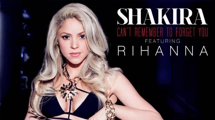 Foto: Shakira reveló portada de su canción con Rihanna