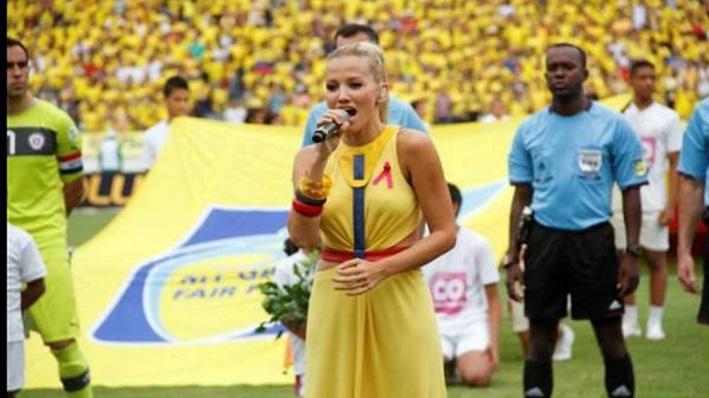 Fanny Lu interpretará el himno de Colombia en el mundial Brasil-2014