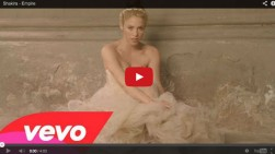 Shakira presenta el video de su segundo sencillo titulado 'Empire'