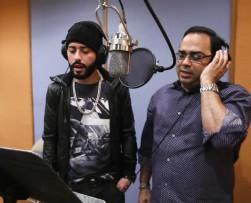 Yandel graba junto a Gilberto Santa Rosa versión salsa de 'En la oscuridad'