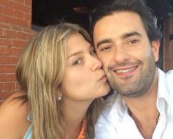 Andrea Guerrero se casó con Alejandro Falla en Miami