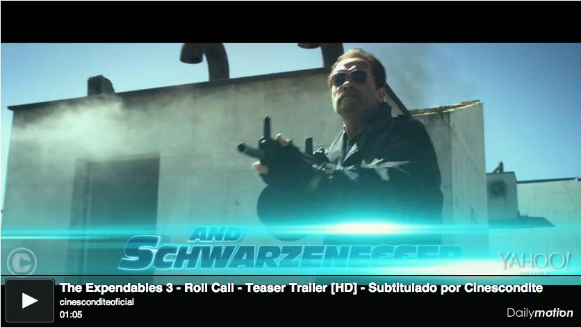 Subtitulado: Primer trailer de Los Indestructibles 3 (Expendables 3)