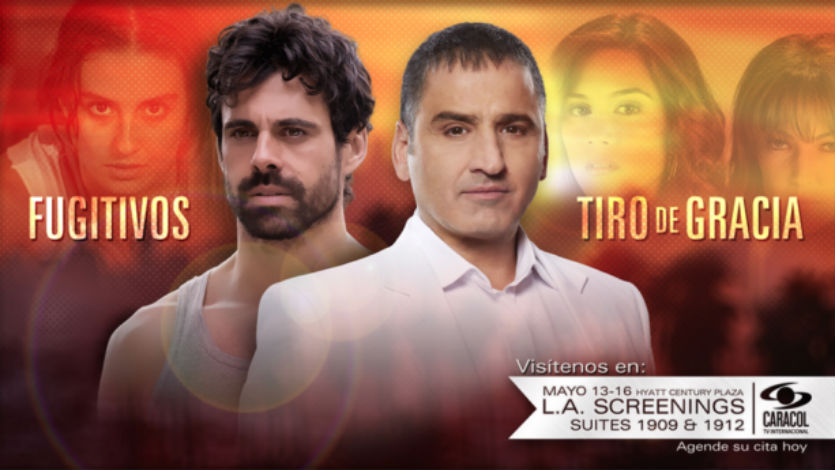 Canal Caracol presentará 'Los Fugitivos' y 'Tiro de Gracia' en LA Screenings