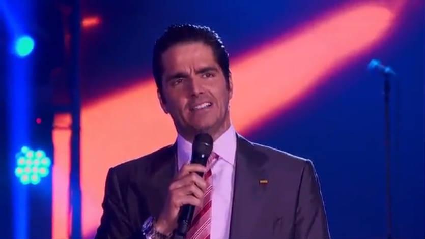 Ernesto Calzadilla se molesta con Amparo Grisales en Yo me llamo