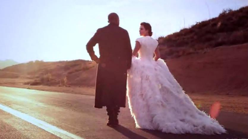 Kim Kardashian y Kanye West se casan en Italia