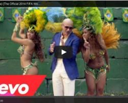 Pitbull y Jennifer López presentan videoclip del Mundial Brasil 2014