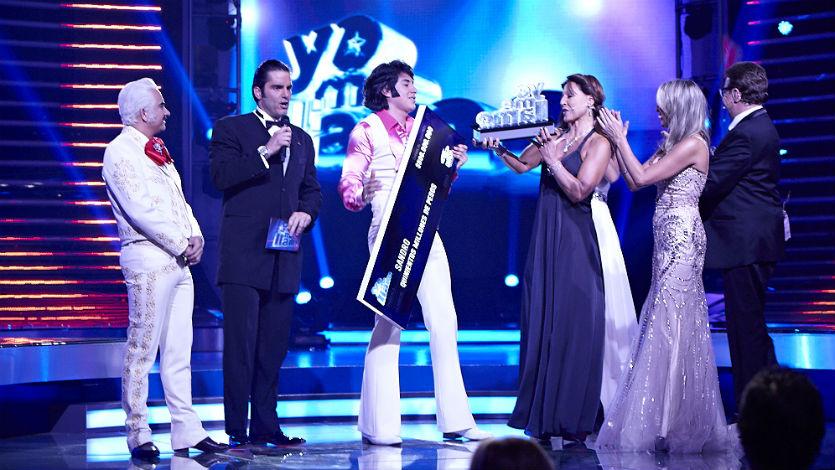 Sandro es el ganador de la tercera temporada de 'Yo me llamo'