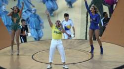 Pitbull, Jennifer López y Claudia Leitte inauguraron el Mundial Brasil 2014