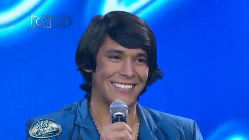 Jhon Mindiola queda en riesgo de salir en 'Idol Colombia'