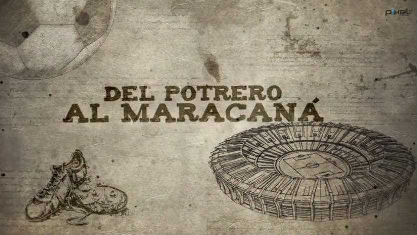 Video: Canal Tr3ce presenta 'Del Potrero al Maracaná'