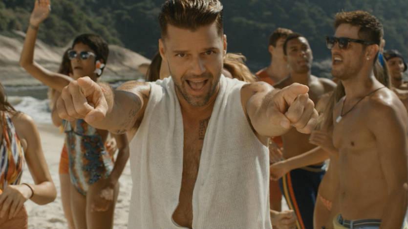 A Ricky Martin le gustaría cantar a dúo con Shakira