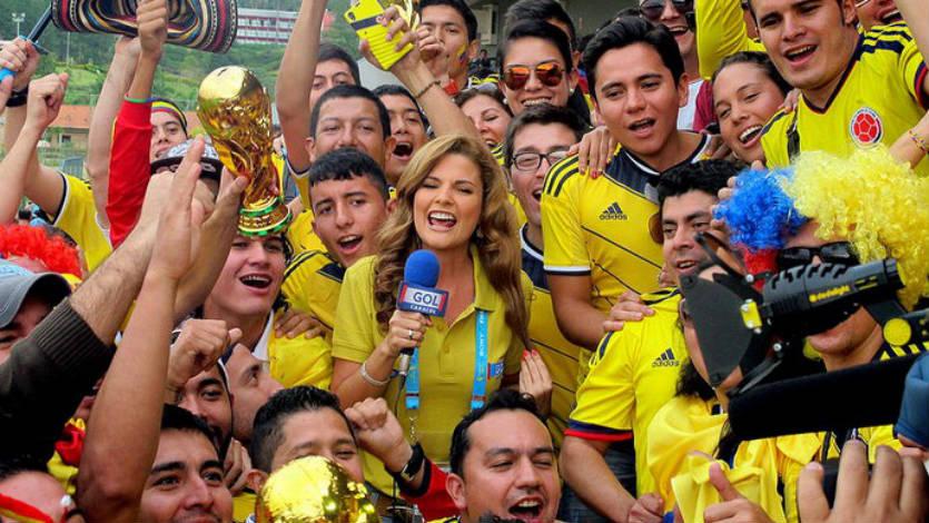 Rochi Stevenson es la sensación en el Mundial Brasil 2014