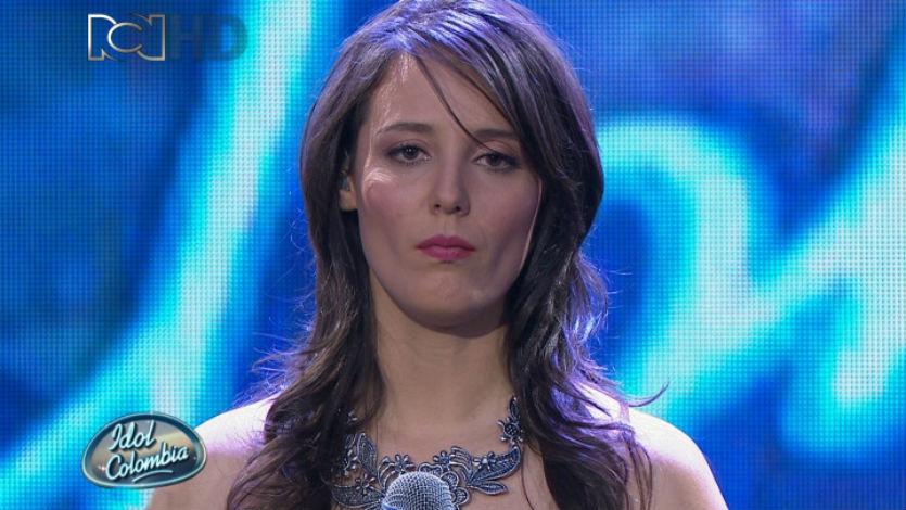 Tatiana Cardona primera eliminada del reality 'Idol Colombia'