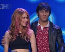 Daniela y Jhon están en riesgo de salir del reality 'Idol Colombia'